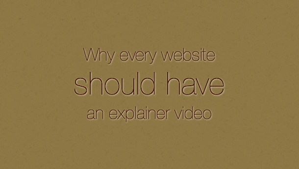 Why Website Explainer Video