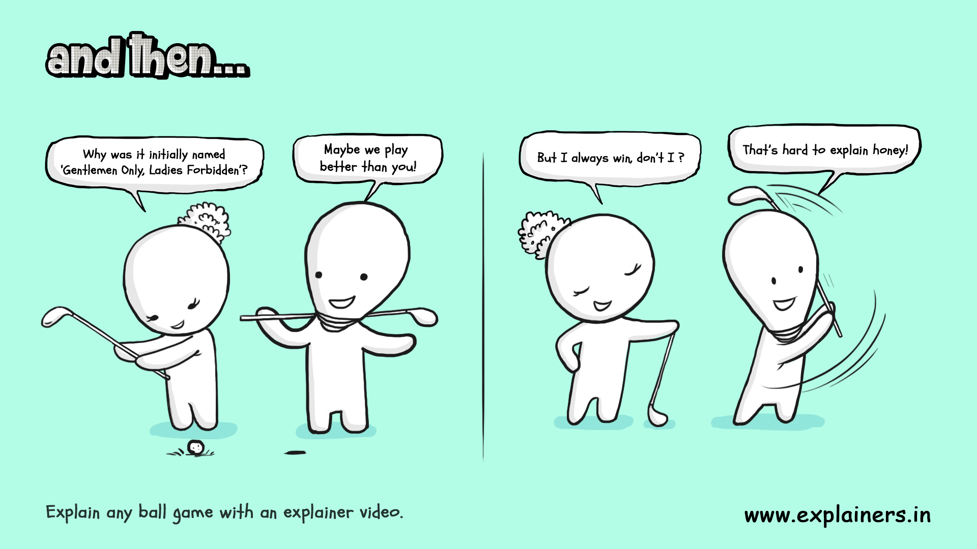 And Then, Explainers, Explainer video, And then comic, Comic