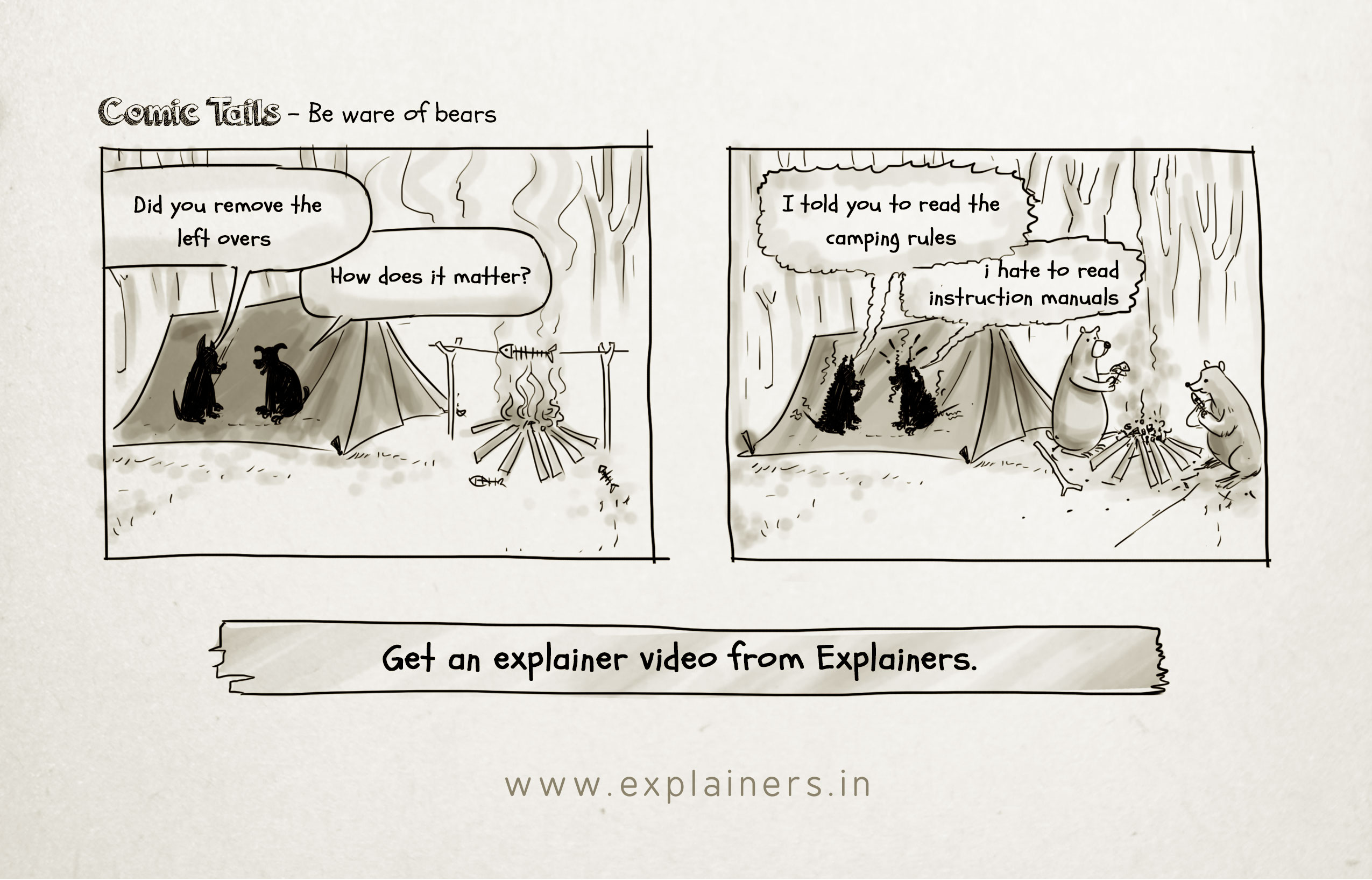 Explainers,Explainer video, webcomic, comic tails, animated explainer video, animation video
