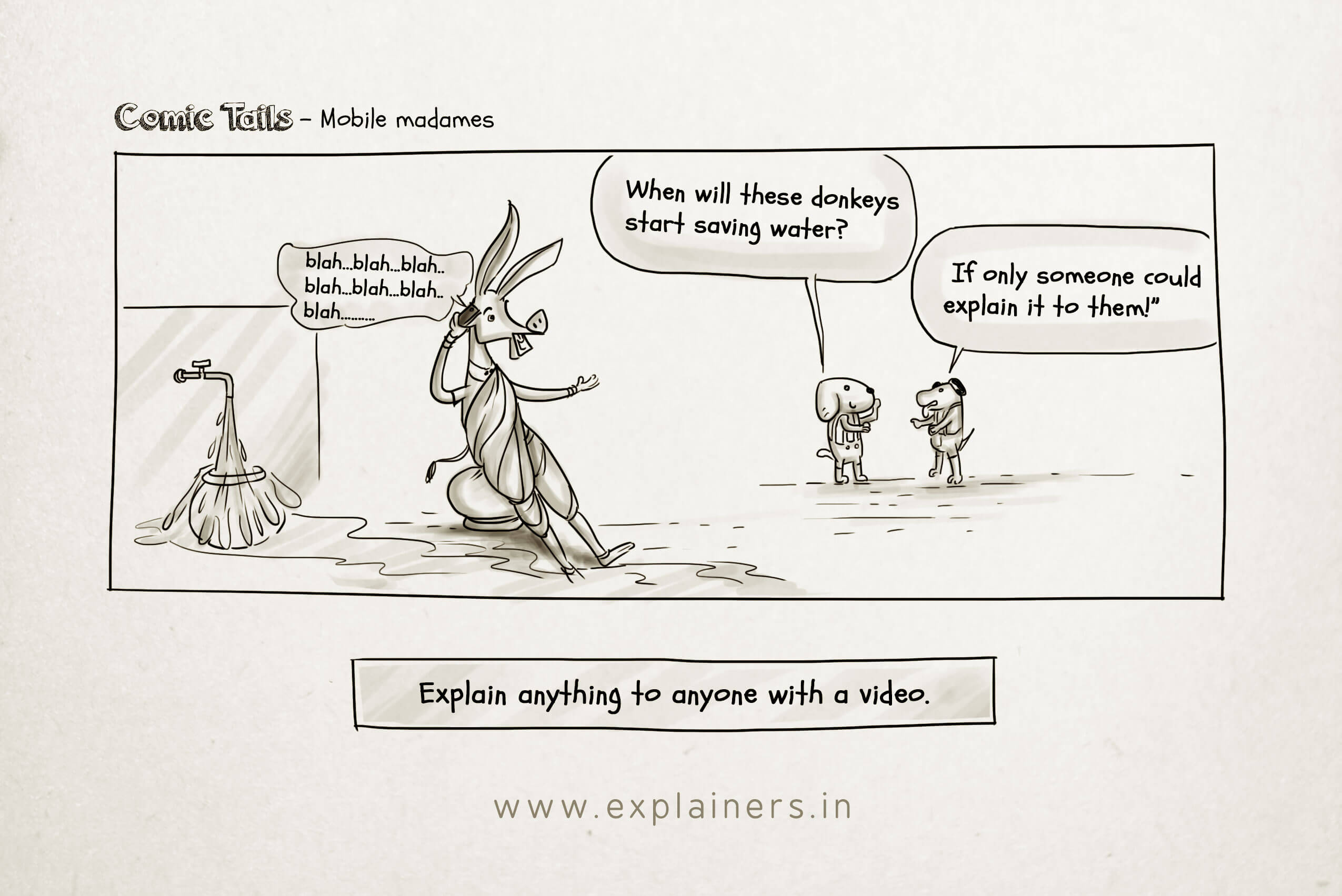 Comic Tails, Mobile madames, Explainers, Explainer Videos